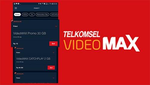 Cara Daftar Paket Videomax Telkomsel 30gb Rp10 Kuotareguler Com