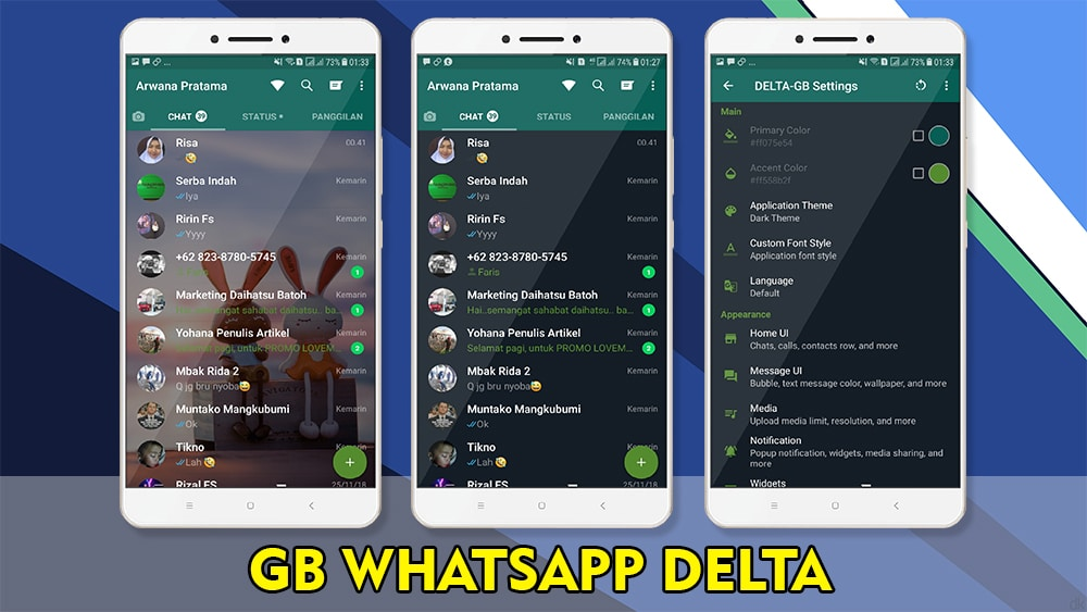 Download Gb Whatsapp Delta Mod Apk Versi Terbaru 2019 Kuotareguler Com