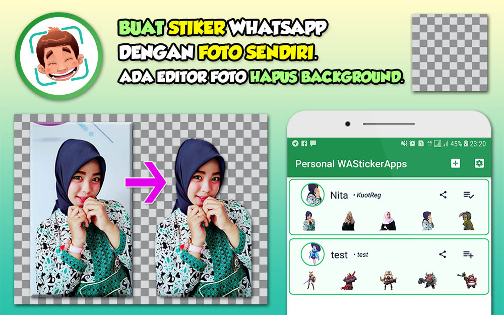 Cara Membuat Stiker Whatsapp Dengan Foto Sendiri Terbaru 2019