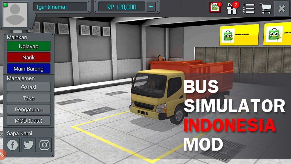 Livery Mgi Bus Simulator Indonesia Livery Bus