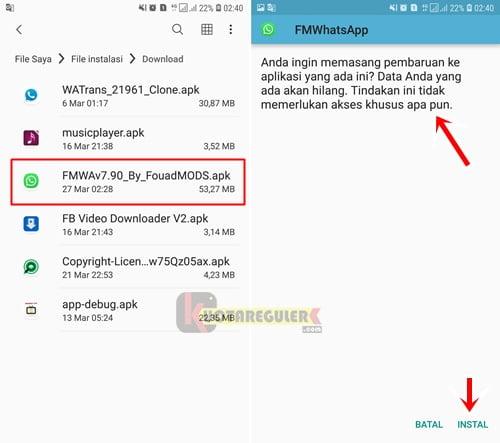 Cara Memperbarui Fmwhatsapp Yang Kadaluarsa Ke Versi Terbaru